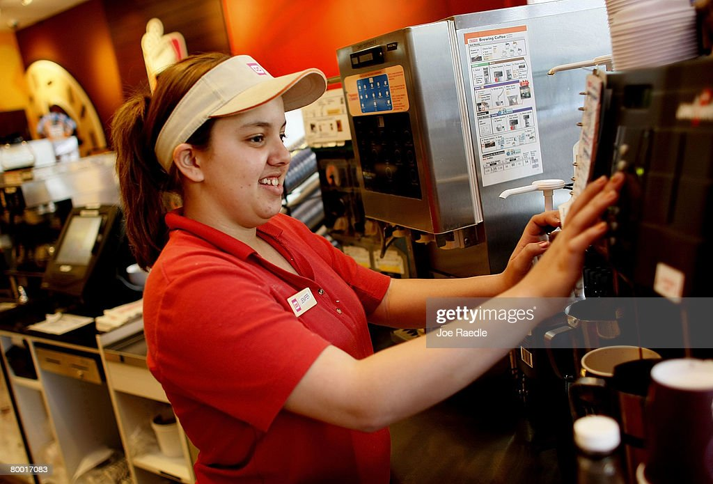 Dunkin Donuts Offers Discounted Coffee During Starbucks Retraining Day News Photo