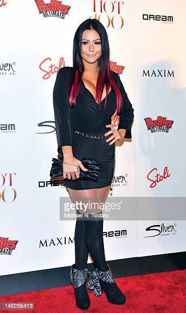 Jennifer 'J Woww' Farley attends the Maxim Hot 100 party at Dream Downtown on May 24 2012 in New York City