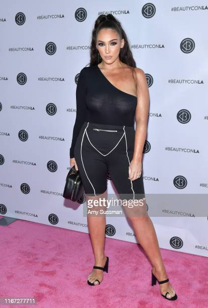 Jennifer Janelle attends Beautycon Festival Los Angeles 2019 at Los Angeles Convention Center on August 10 2019 in Los Angeles California