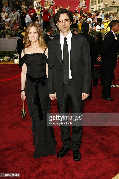 """Jennifer Jason Leigh and Noah Baumbach nominee Best Original Screenplay for """"The Squid and the Whale"""""""