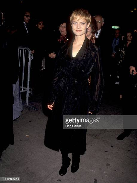 Jennifer Jason Leigh at the Opening Night of the 33rd Annual NY Film Festival, Alice Tully Hall at Lincoln Center, New York City.