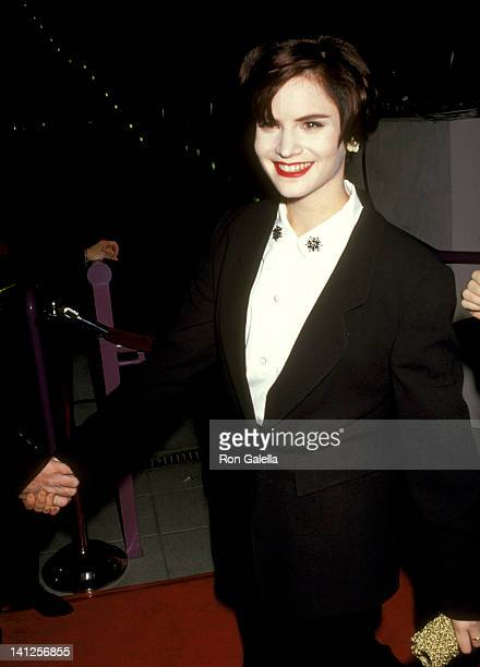 Jennifer Jason Leigh at the Premiere of 'Rush' Galaxy Theater Hollywood