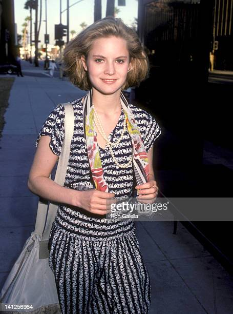 Jennifer Jason Leigh at the Premiere of 'Sam's Son' Academy Theatre Beverly Hills