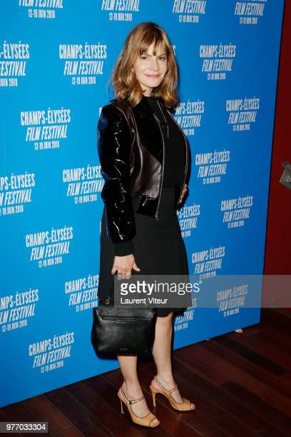Jennifer Jason Leigh attends 7th Champs Elysees Film Festival at Cinema Publicis on June 17 2018 in Paris France