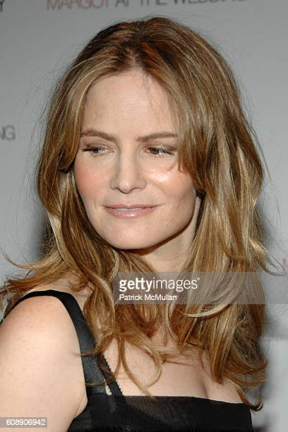 Jennifer Jason Leigh attends THE CINEMA SOCIETY and LINDA WELLS host a screening of MARGOT AT THE WEDDING at Tribeca Grand Hotel on November 8 2007...