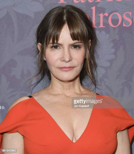 Jennifer Jason Leigh attends the premiere of Showtime's Patrick Melrose at Linwood Dunn Theater on April 25 2018 in Los Angeles California