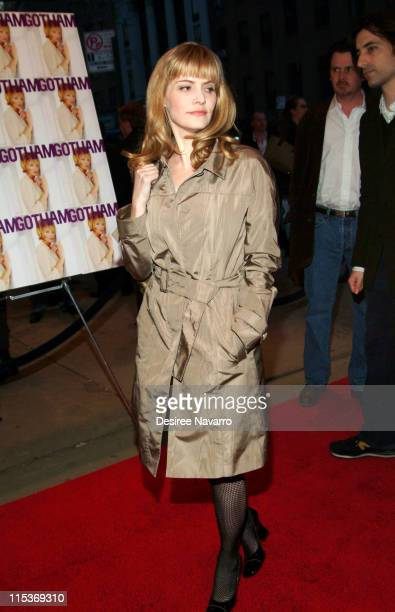 Jennifer Jason Leigh during Palindromes New York City Premiere Arrivals at Chelsea West Theater in New York City New York United States