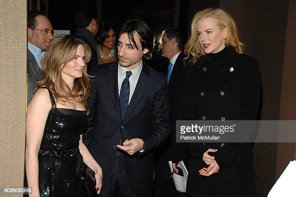 Jennifer Jason Leigh Noah Baumbach and Nicole Kidman attend THE CINEMA SOCIETY and LINDA WELLS host a screening of MARGOT AT THE WEDDING at Tribeca...