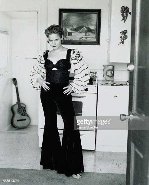 Jennifer Jason Leigh Wearing Spanish Outfit