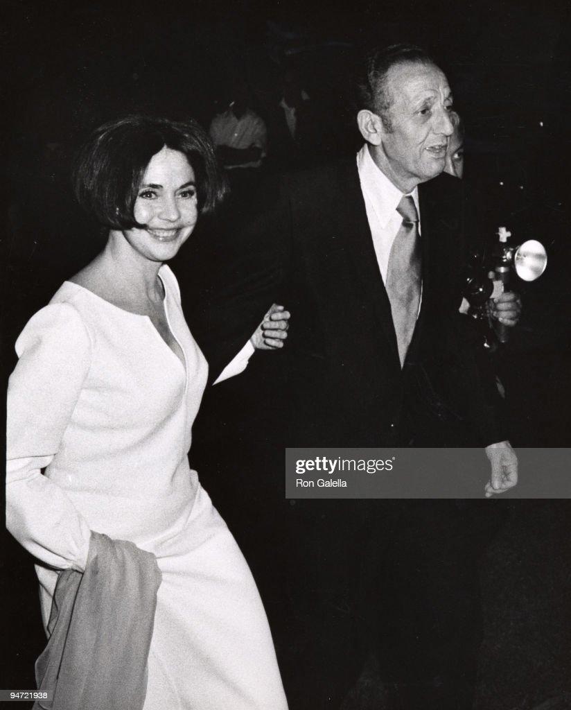 Jennifer Jones and husband Norton Simon