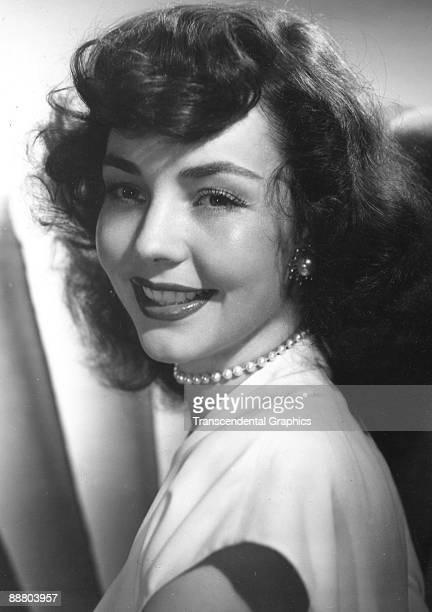 Jennifer Jones poses for a close up during a publicity shoot in Hollywood around 1940