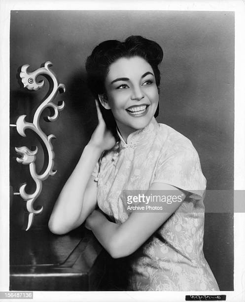 Jennifer Jones publicity portrait for the film 'Love Is A ManySplendored Thing' 1955