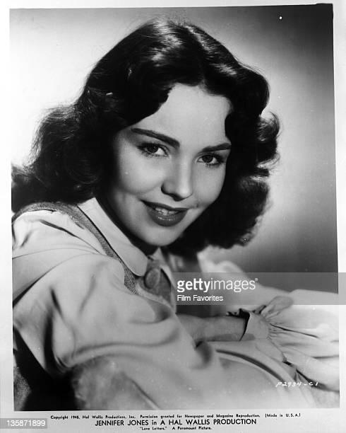 Jennifer Jones publicity portrait for the film 'Love Letters' 1945