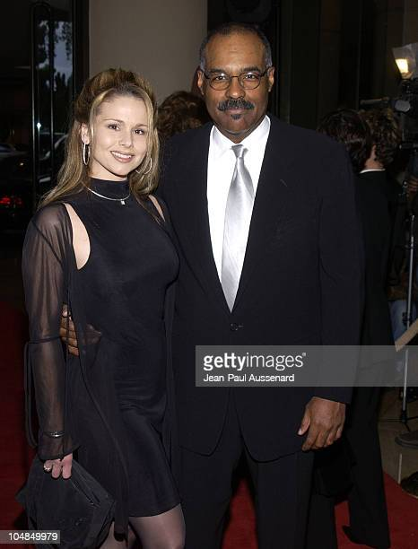 Jennifer Joseph and Michael Dorn during Fourth Annual Hollywood Makeup Artists and Hairstylists Guild Awards at Beverly Hilton Hotel in Beverly Hills...