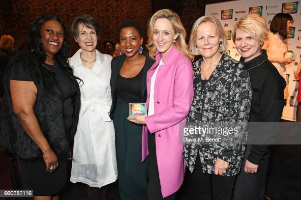 Jennifer Joseph, Dame Harriet Walter, Jade Anouka, Kate Pakenham, Phyllida Lloyd and Jackie Clune attend the inaugural Tonic Awards, celebrating the...