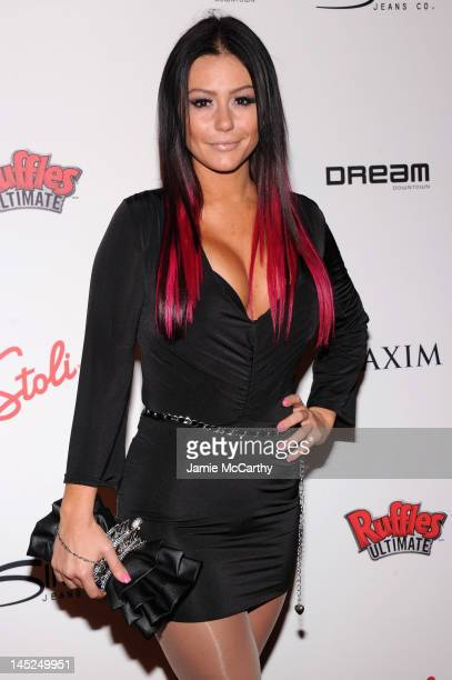 Jennifer 'JWoww' Farley attends the Maxim Hot 100 on May 24 2012 in New York City