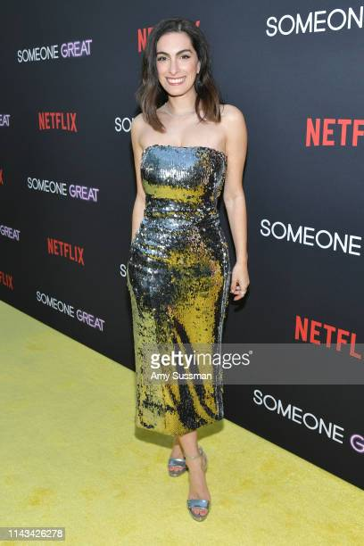Jennifer Kaytin Robinson attends the Los Angeles special screening of Netflix's Someone Great at ArcLight Hollywood on April 17 2019 in Hollywood...