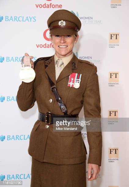 Jennifer Kehoe attends the Woman Of The Year Awards Lunch at Royal Lancaster Hotel on October 14 2019 in London England