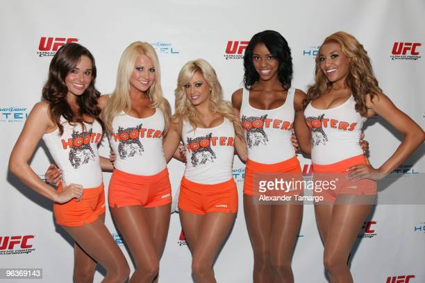 Hooters Miami Beach Stock Pictures