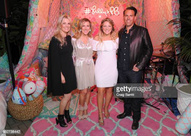 Jennifer Kellor Allison Spampanato Rozes and Todd Wandell attend the Launch Celebration of the Pottery Barn Pottery Barn Kids PBteen and Lilly...