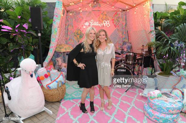 Jennifer Kellor and Allison Spampanato attend the Launch Celebration of the Pottery Barn Pottery Barn Kids PBteen and Lilly Pulitzer Exclusive...