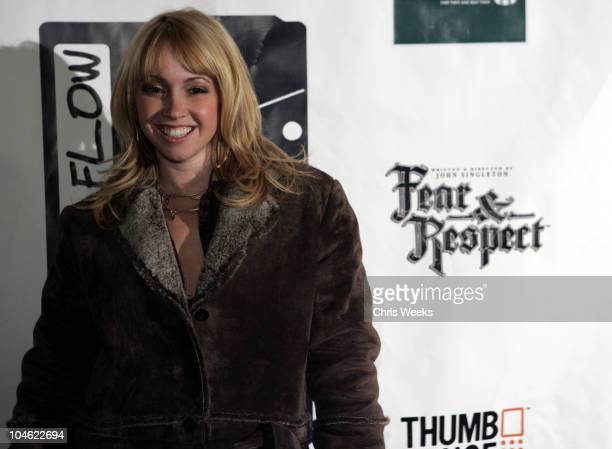 Jennifer Kelly Tisdale during 2005 Park City Hustle and Flow Party at The Premiere Lounge in Park City Utah United States