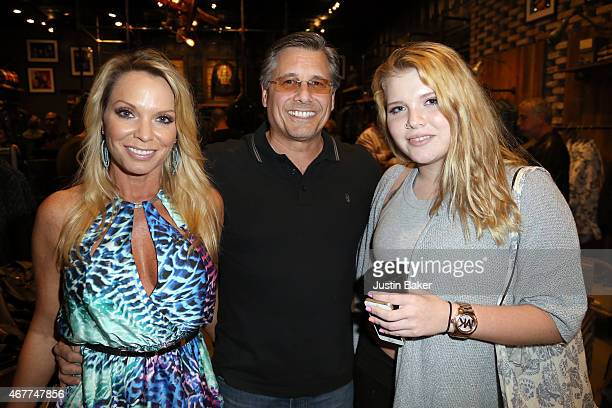 Jennifer Kevin and Ashley Mazur attend A Tribute To Rock Roll hosted by Schott NYC Featuring Photographs from Photographer Kevin Mazur at The...