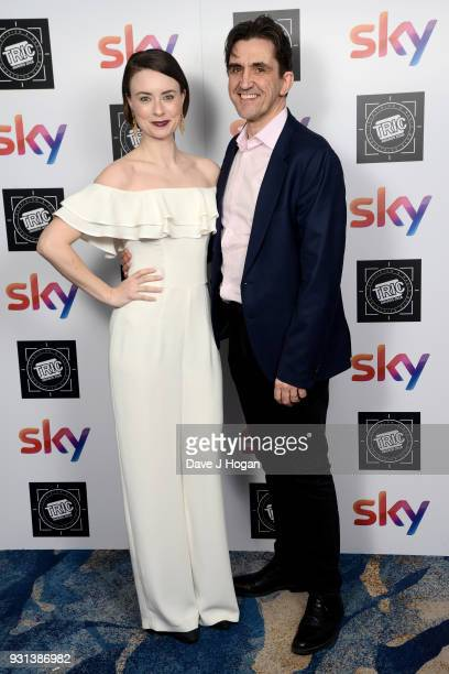 Jennifer Kirby and Stephen McGann attend the TRIC Awards 2018 held at The Grosvenor House Hotel on March 13 2018 in London England