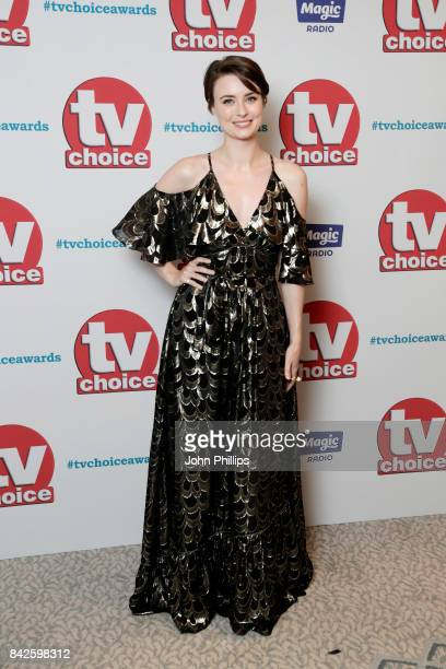 Jennifer Kirby arrives for the TV Choice Awards at The Dorchester on September 4 2017 in London England