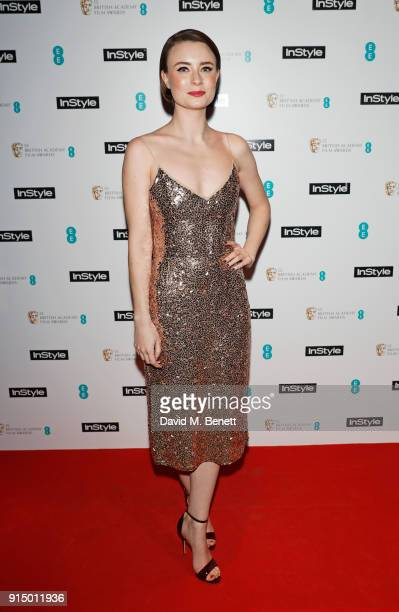 Jennifer Kirby attends the InStyle EE Rising Star Party Ahead Of The EE BAFTAs at Granary Square on February 6 2018 in London England
