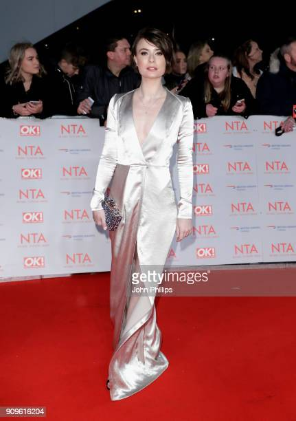 Jennifer Kirby attends the National Television Awards 2018 at the O2 Arena on January 23 2018 in London England