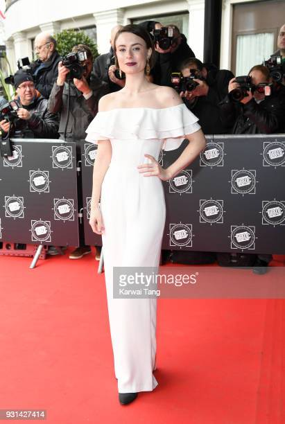 Jennifer Kirby attends the TRIC Awards 2018 held at the Grosvenor House Hotel on March 13 2018 in London England