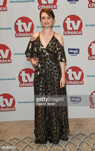 Jennifer Kirby attends the TV Choice Awards at The Dorchester on September 4 2017 in London England