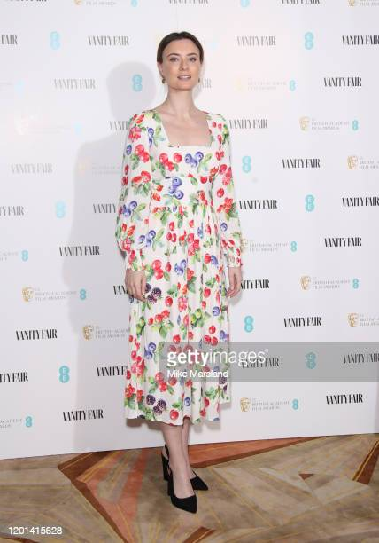 Jennifer Kirby attends the Vanity Fair EE Rising Star BAFTAs Pre Party at The Standard on January 22 2020 in London England