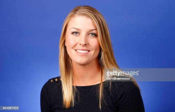 Jennifer Kirby of Canada poses for a portrait at LPGA Headquarters on December 9 2013 in Daytona Beach Florida