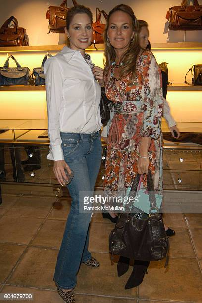 Jennifer Kline and Angelina Lawton attend Chloe/New Yorkers For Children at Chloe Boutique on September 13 2006 in New York City