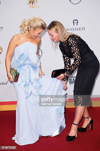 Jennifer Knaeble and guest attend the Tribute To Bambi at Station on October 6 2016 in Berlin Germany