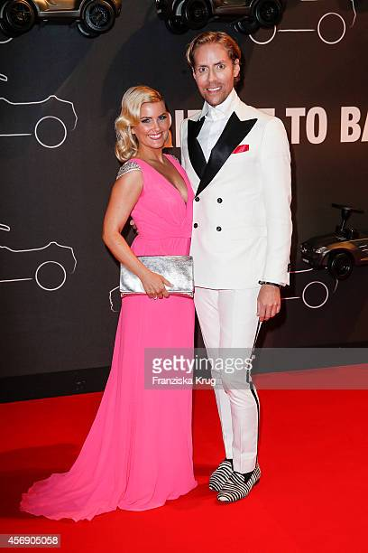 Jennifer Knaeble and Jens Hilbert attend the Tribute To Bambi 2014 on September 25 2014 in Berlin Germany