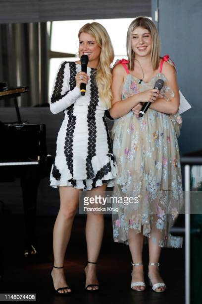 Jennifer Knaeble and Jule Koehler during the Society Relations Ladies Lunch at Le Meridien on June 4 2019 in Hamburg Germany