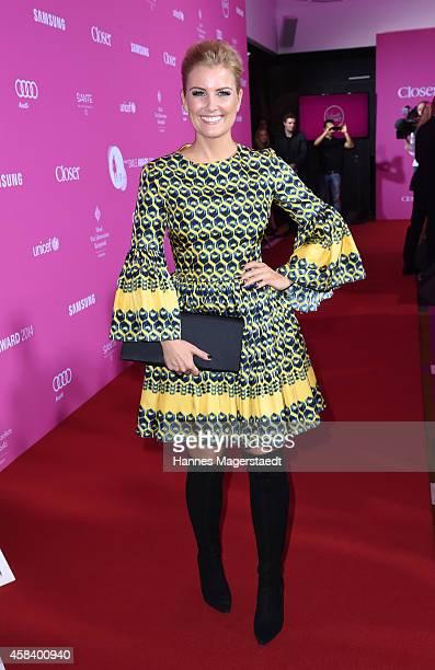 Jennifer Knaeble attends the 'CLOSER Magazin Hosts SMILE Award 2014' at Hotel Vier Jahreszeiten on November 4 2014 in Munich Germany