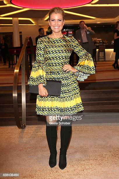 Jennifer Knaeble attends the CLOSER Magazin Hosts SMILE Award 2014 at Hotel Vier Jahreszeiten on November 4, 2014 in Munich, Germany.