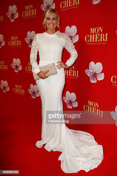 Jennifer Knaeble attends the Mon Cheri Barbara Tag 2015 at Postpalast on December 4 2015 in Munich Germany