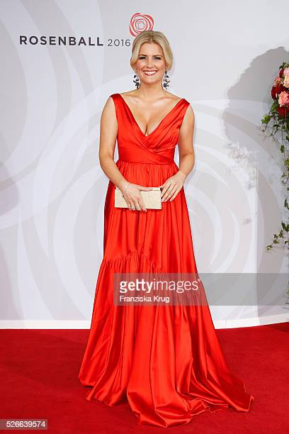 Jennifer Knaeble attends the Rosenball 2016 on April 30 in Berlin Germany