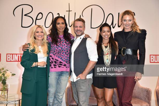 Jennifer Knaeble Barbara Becker Norman Pohl Fernanda Brandao and Prinzessin Lilly zu SaynWittgensteinBerleburg during the Bunte Beauty Days at Messe...