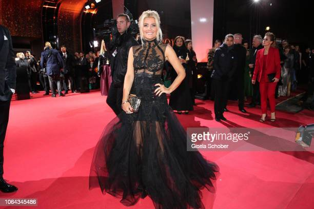 Jennifer Knaeble during the Bambi Awards 2018 Arrivals at Stage Theater on November 16 2018 in Berlin Germany