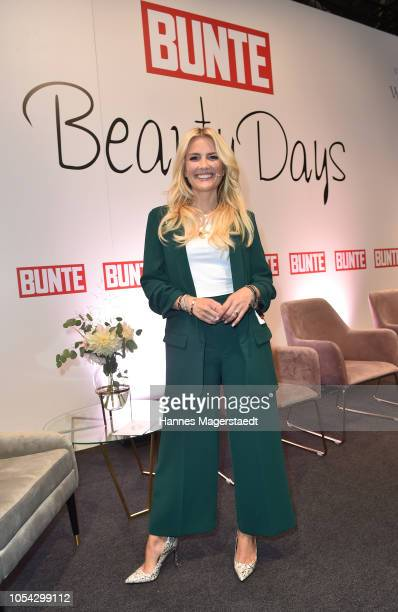 Jennifer Knaeble during the Bunte Beauty Days at Messe Muenchen on October 27 2018 in Munich Germany