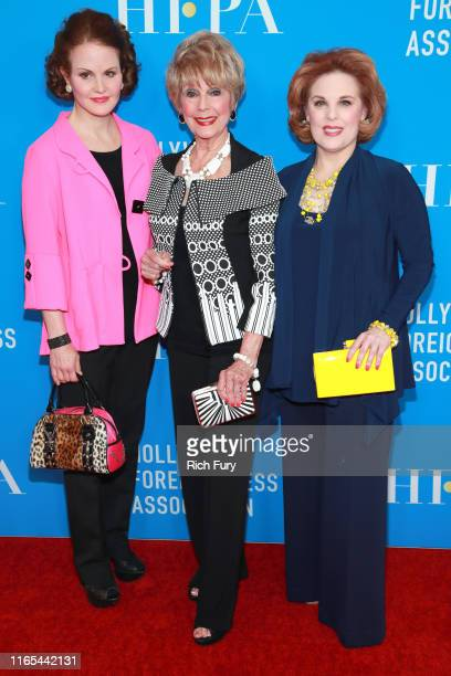 Jennifer Kramer Karen Sharpe and Kat Kramer attend the Hollywood Foreign Press Association's Annual Grants Banquet at Regent Beverly Wilshire Hotel...