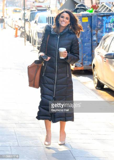 Jennifer Lahmers is seen outside fox news on March 6 2019 in New York City