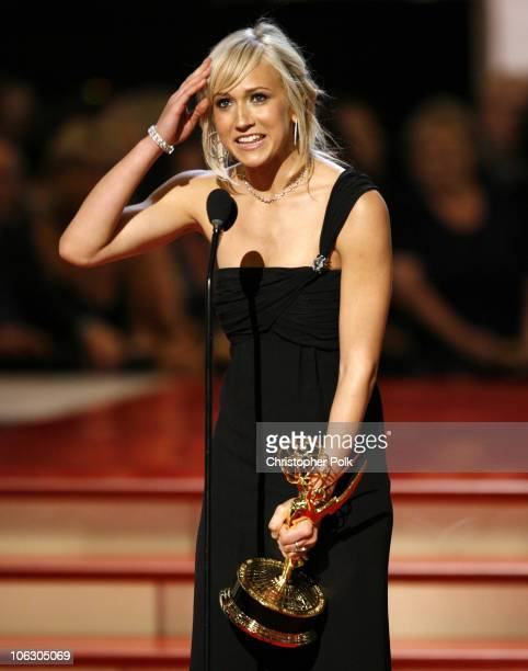 Jennifer Landon accepts Outstanding Younger Actress in a Drama Series award for As the World Turns
