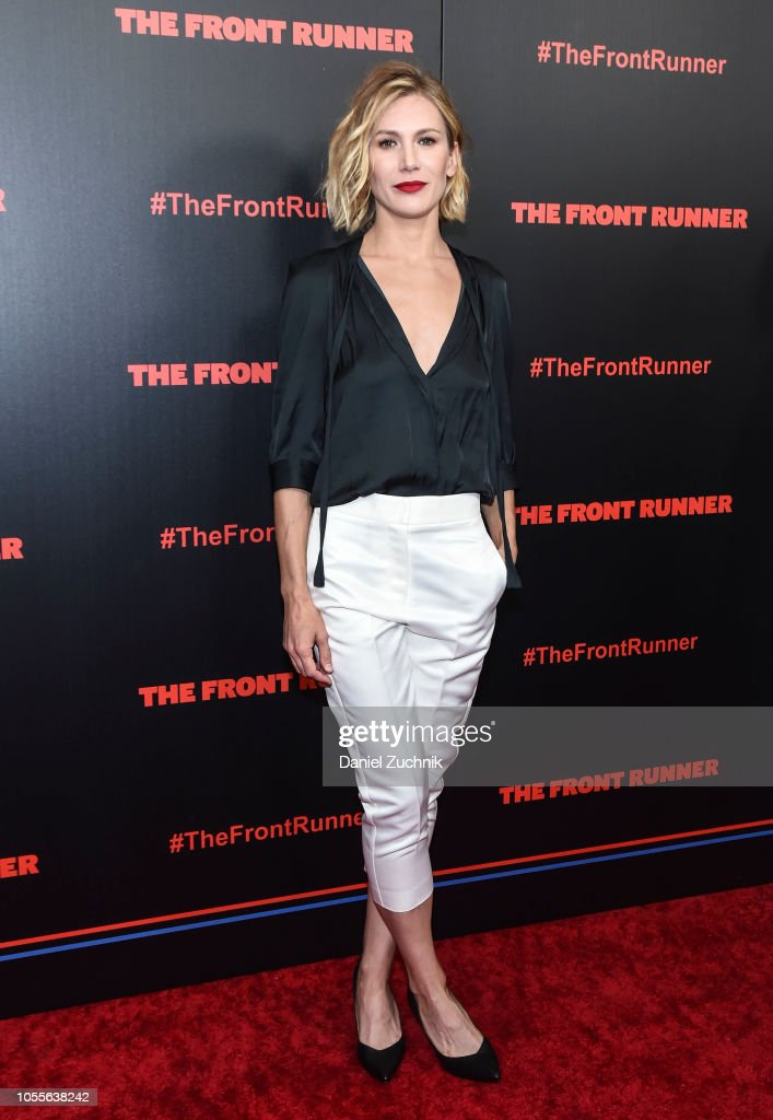 """The Front Runner"" New York Premiere : Nachrichtenfoto"